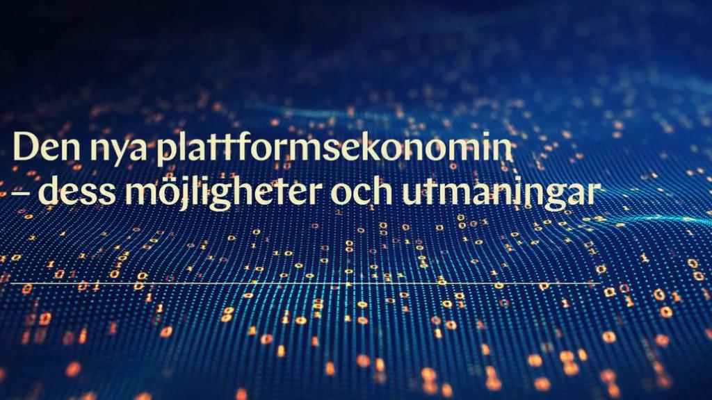 Den nya plattformsekonomin